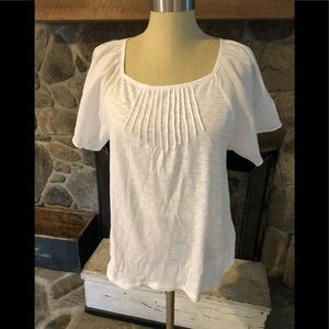 GAP Women's Loose Fit Shirt Top Size S NWT White